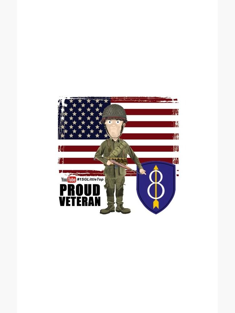 8th Infantry- Proud Veteran by FatCrayon