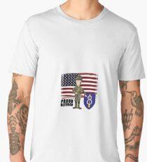 8th Infantry- Proud Veteran Men's Premium T-Shirt
