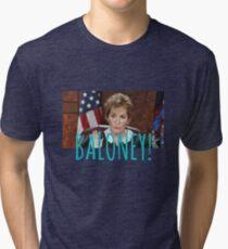 JUDGE JUDY BALONEY Tri-blend T-Shirt
