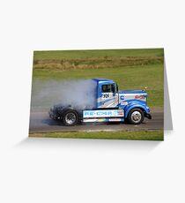 Smokey Blue Greeting Card