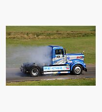 Smokey Blue Photographic Print
