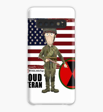 7th ID WW2- Proud Veteran Case/Skin for Samsung Galaxy