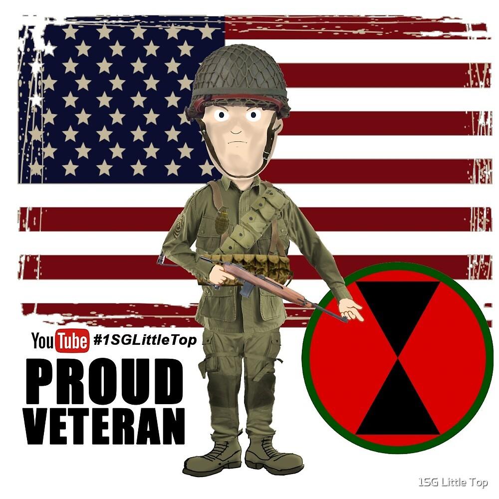 7th ID WW2- Proud Veteran by 1SG Little Top