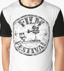 Vintage Film Festival Graphic T-Shirt