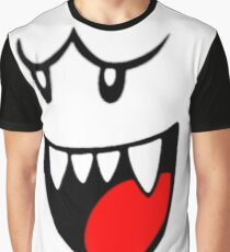 Boo Face Graphic T-Shirt