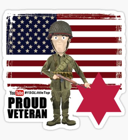 6th Infantry Division- Proud Veteran Sticker