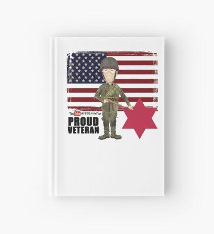 6th Infantry Division- Proud Veteran Hardcover Journal