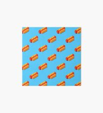 Isometric hot dogs pattern. Art Board