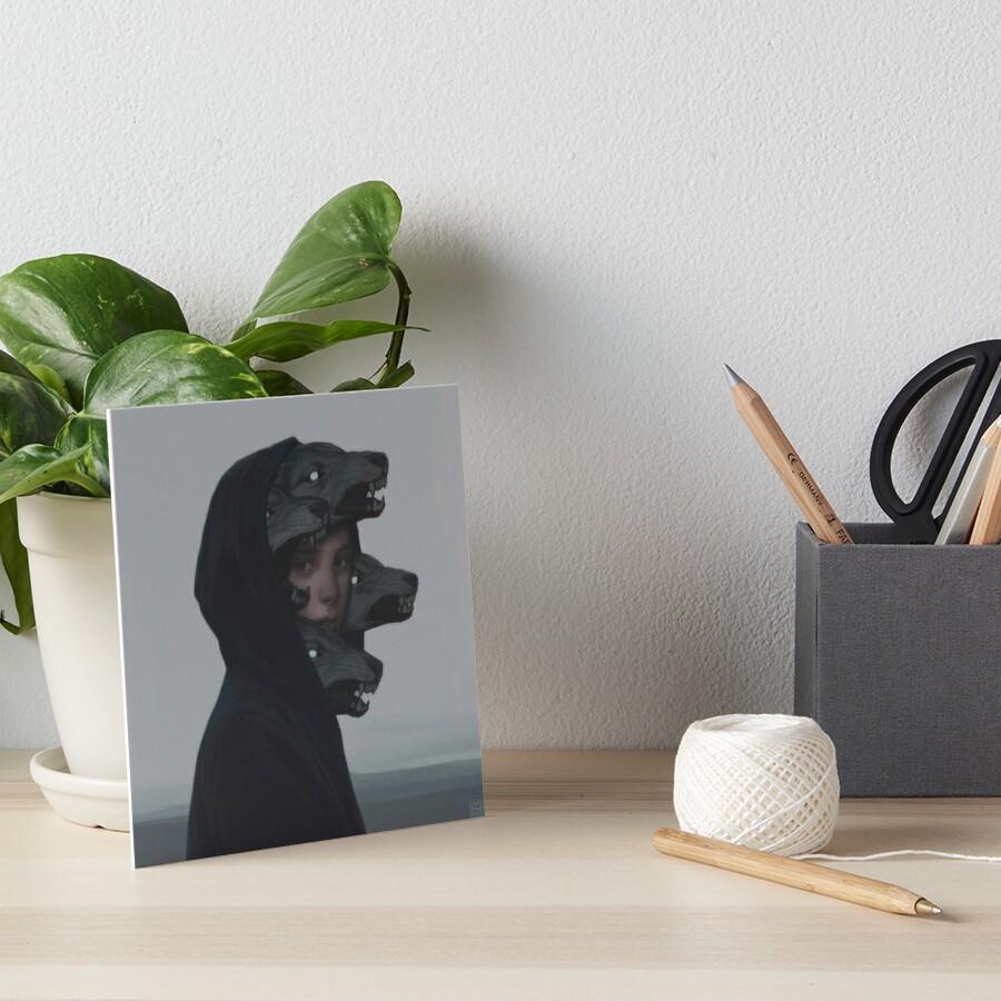 Wolfsrudel Galeriedruck