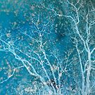 Blue Tree by ElaineLauzon