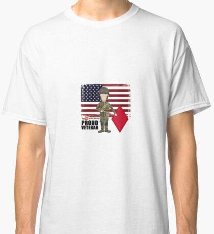 5th Infantry Division- Proud Veteran Classic T-Shirt
