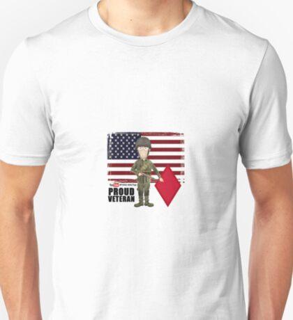 5th Infantry Division- Proud Veteran T-Shirt