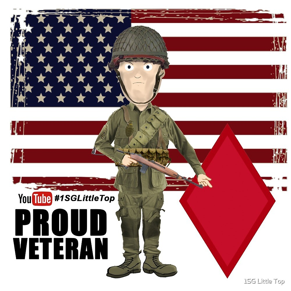 5th Infantry Division- Proud Veteran by 1SG Little Top