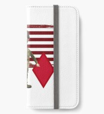 5th Infantry Division- Proud Veteran iPhone Wallet/Case/Skin