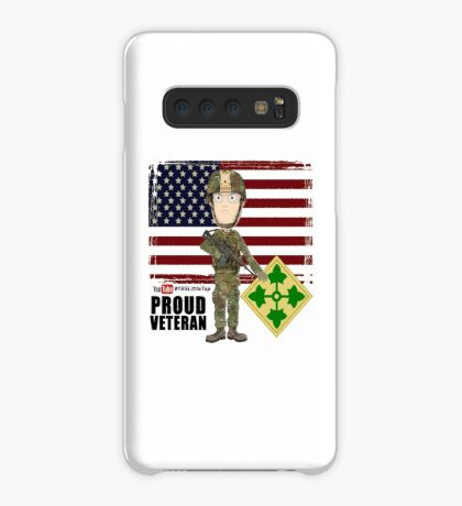 4th Infantry Division - Proud Veteran of OIF / OEF Case/Skin for Samsung Galaxy