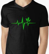 Pulse green go vegan save earth wave heartbeat  T-Shirt