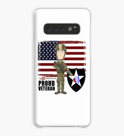 2nd Infantry Division - Proud Veteran Case/Skin for Samsung Galaxy