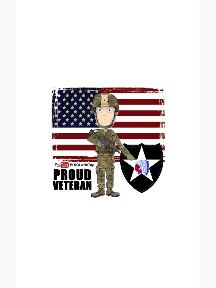 2nd Infantry Division - Proud Veteran by FatCrayon