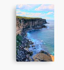 """""""Awe Revisited"""" - North Head - Sydney Harbour National Park - The HDR Series, Sydney Australia Canvas Print"""