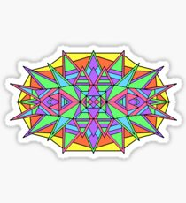 Colorful Symmetry Sticker