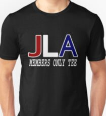 JLA Members Only. T-Shirt