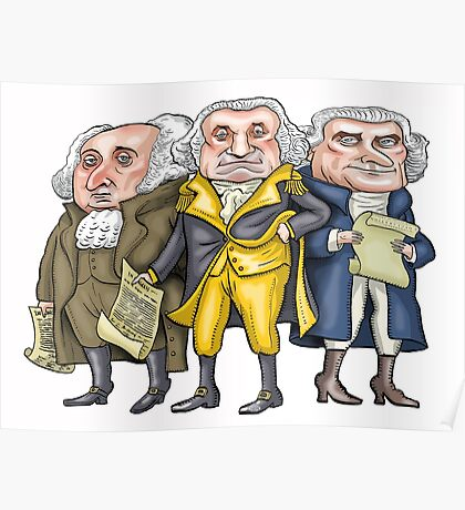 Founding Fathers | By Graeme MacKay Poster