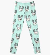 Festive Kitty Cat Leggings