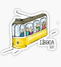 Lisboa #1 - Eléctrico Sticker
