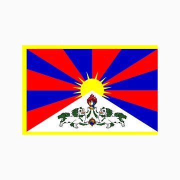 Tibet FLAG by grazgar