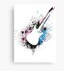 Music Guitar Canvas Print