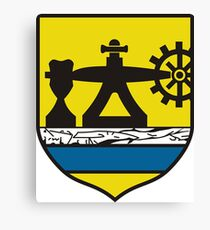 Katowice Coat Of Arms Canvas Print