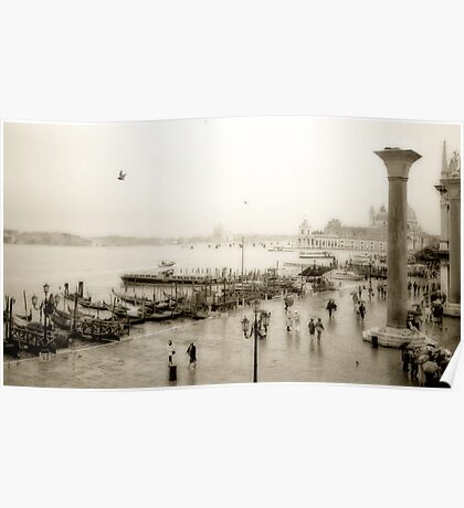 Venice Showers Poster