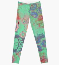 Tracy Porter / Poetic Wanderlust: You. Me. Oui. (print) Leggings