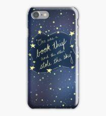 Book Thief/Sky Stealer 2.0 iPhone Case/Skin