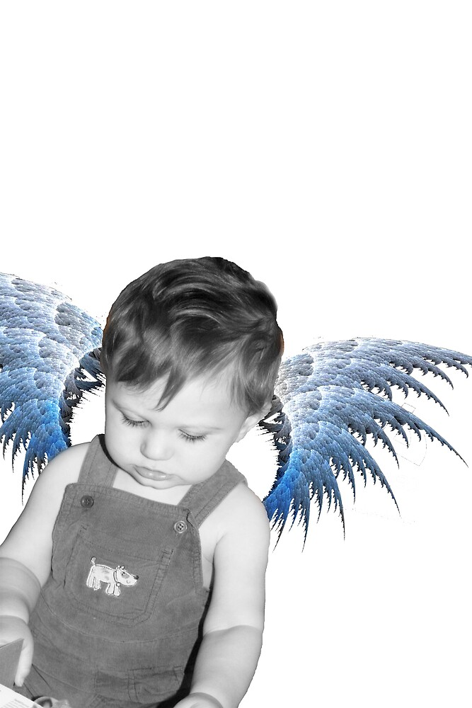 little angel by Maxine Dunkley