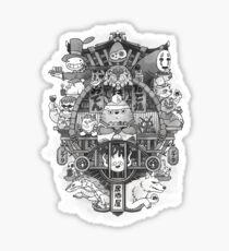 Ghibli Izakaya Print Sticker