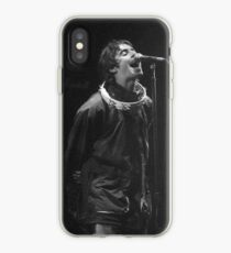 Liam Gallagher Druck iPhone-Hülle & Cover