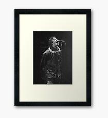 Lámina enmarcada Liam Gallagher Imprimir
