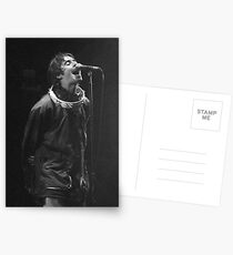 Liam Gallagher Print Postcards