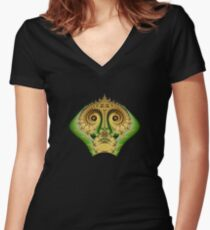 Alien Fitted V-Neck T-Shirt