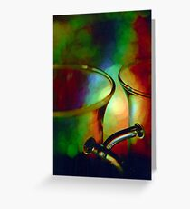 Tea time dreaming Greeting Card