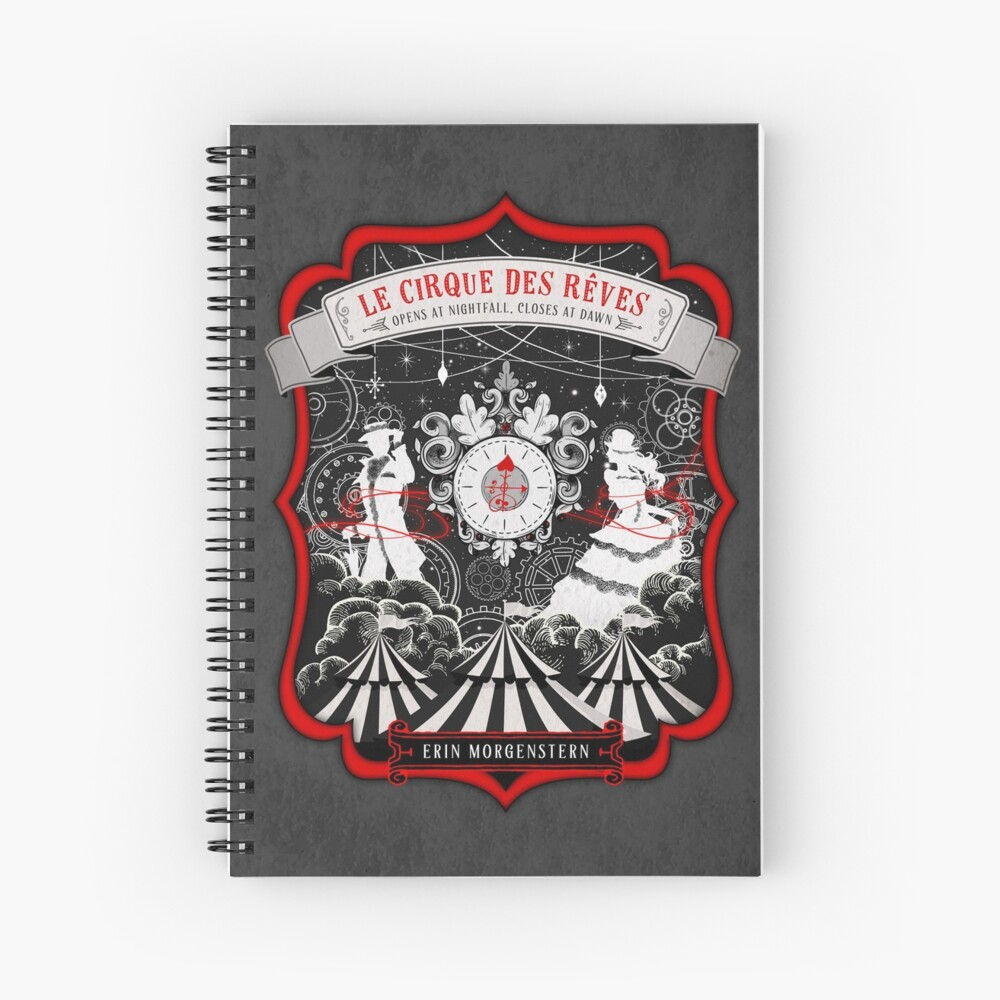 The Night Circus Spiral Notebook