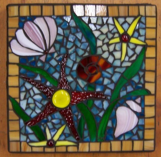 Sea Scene Mosaic by SusieQB