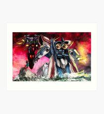 Gundam Fight! Art Print