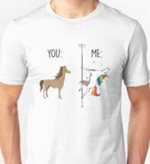 You and Me Unicorn Shirt - Black Font T-Shirt