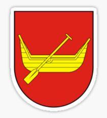 Lodz Coat Of Arms Sticker