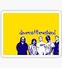 Yellow Dave Matthews Band Sticker