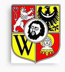 Wroclaw Coat Of Arms Canvas Print