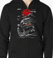 Nissan Skyline GTR 34 | Haruna Zipped Hoodie