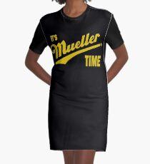 es & amp; s Mueller Zeit - GOLD T-Shirt Kleid